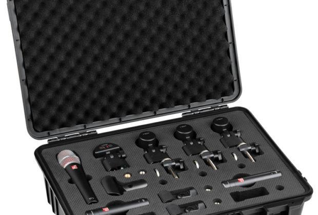 sE Electronics V Pack Arena batteria drums mic midiware audiofader