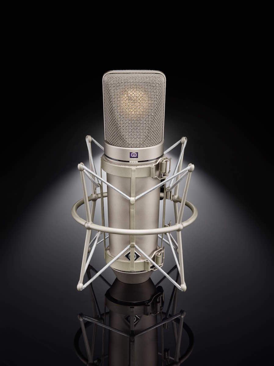 Neumann U67 ehxibo test mic studio pro audiofader