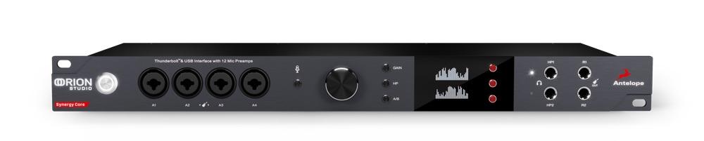 Antelope Audio Orion Studio Synergy Core interfaccia audio hardware software studio pro audiofader