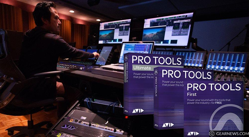 Avid Pro Tools 2019 daw rec mix edit soundwave strumenti musicali