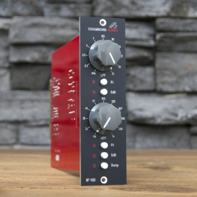 Chambord Audio BF-500 hardware outboard rack api studio pro home project audiofader filter