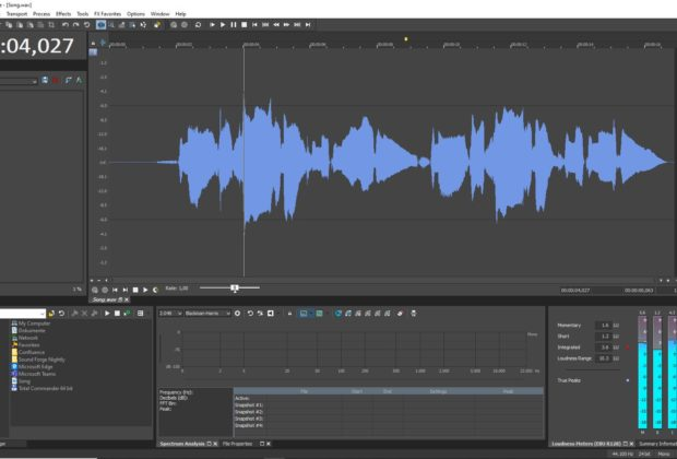 Magix Sound Forge Pro 13 Suite software daw post produzione audio pro audiofader