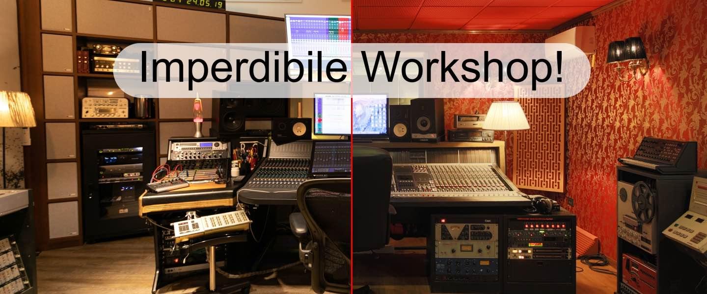 Soundwave Workshop seminario recording studio avid sontronics eve audio la distilleria art music studio strumenti musicali