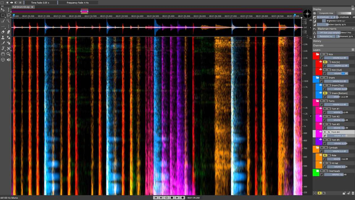 Steinberg SpectraLayers Pro 6 software plug-in audio pro audiofader