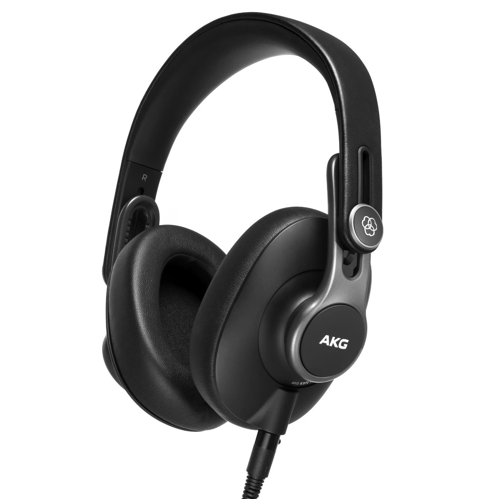 AKG K361 K371 cuffia headphones pro audio studio rec mix leading tech audiofader