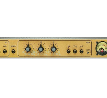 API 862 50th anniversary edition pre eq digiland outboard rack analog audiofader rec studio