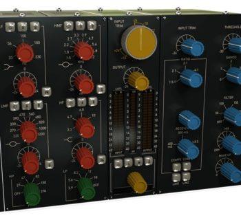 Acustica Audio Navy 2 plug-in virtual eq comp pre channel strip