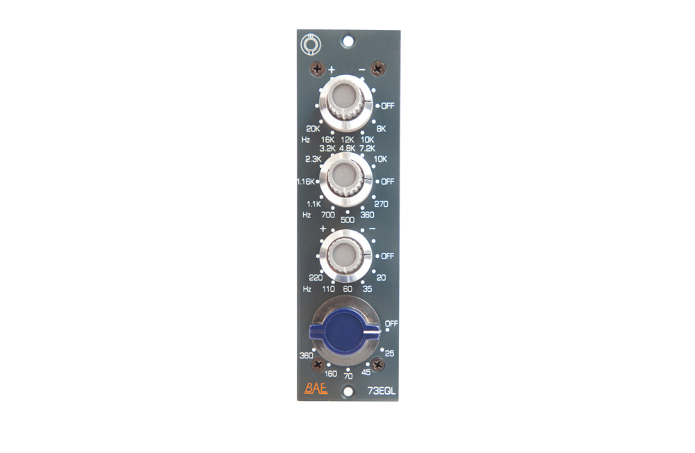 BAE Audio 73EQL analog hardware outboard rack eq audiofader