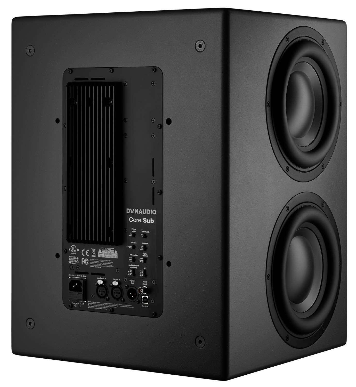 Dynaudio Core Sub monitor pro studio mix rec mastering audio distribution group audiofader