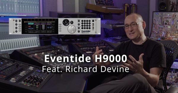 Eventide H9000 Richarde Devine hardware fx studio producer audiofader