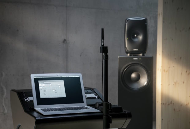 Genelec The Ones midiware studio pro monitor audio audiofader