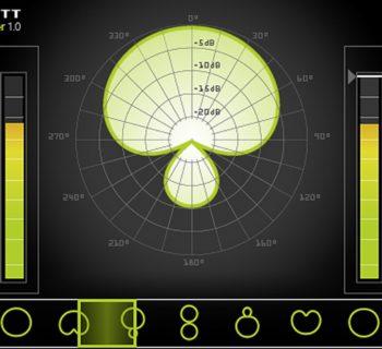 Lewitt Polarizer plug-in audio pro rec mic software audiofader