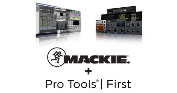 Mackie Avid partnership hardware software pro tools first daw software audiofader