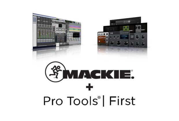 Mackie Avid partnership hardware software pro tools first daw software audiofader