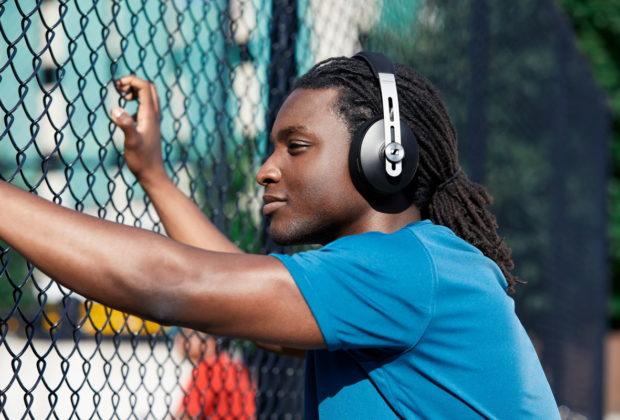 Sennheiser Momentum cuffie headphones wireless bluetooth exhibo audiofader