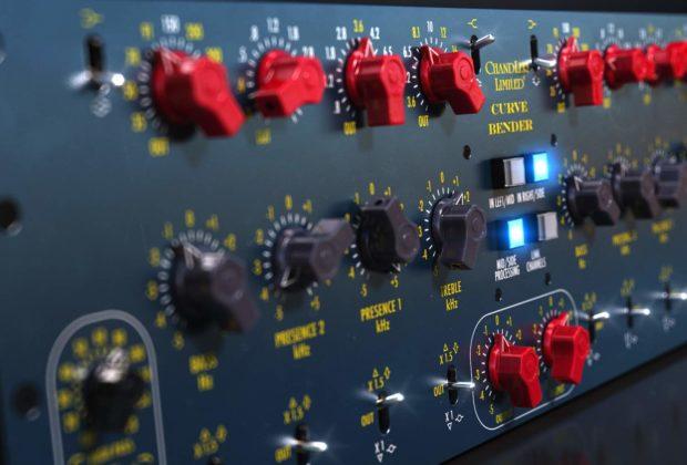 Softube Chandler Limited Curve Bender Mastering EQ virtual audiofader