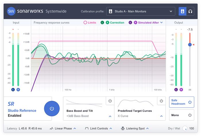 Sonarworks Reference 4 software plug-in correzione acustica