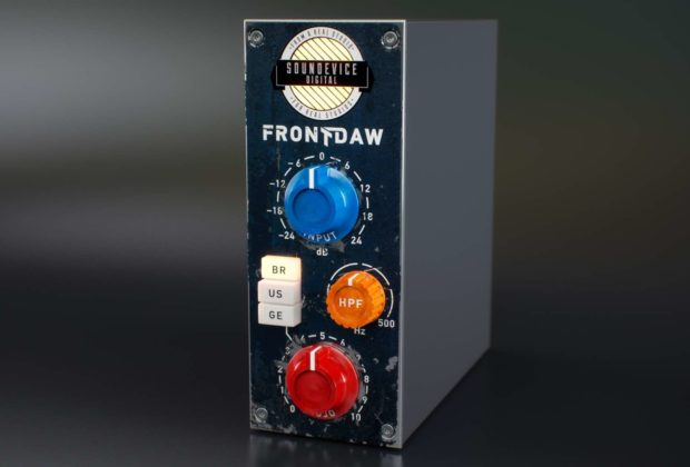 United Plugins Front Daw software console mix audiofader