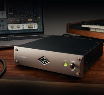 Universal AUdio UAD-2 Satellite Thunderbolt 3 DSP processing plug-in fx daw software hardware audiofader