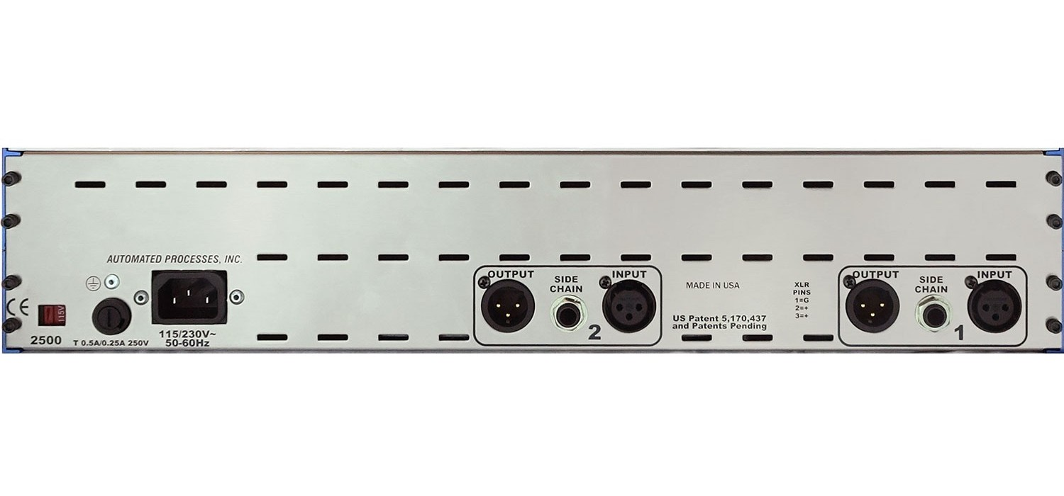 API 2500 50th anniversary comp analog hardware outboard digiland audiofader