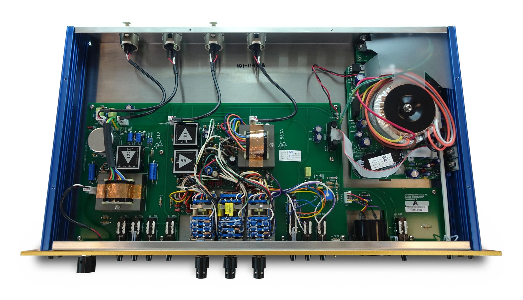 API 862 50th anniversary comp analog hardware outboard digiland audiofader
