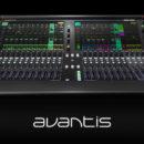 Allen&Heath Avantis console digital mixer hardware live exhibo audiofader
