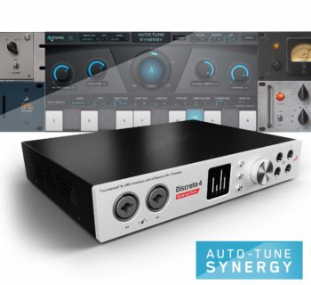 Antelope Audio Auto-Tune Synergy plug-in software virtual pitch correction producer audiofader