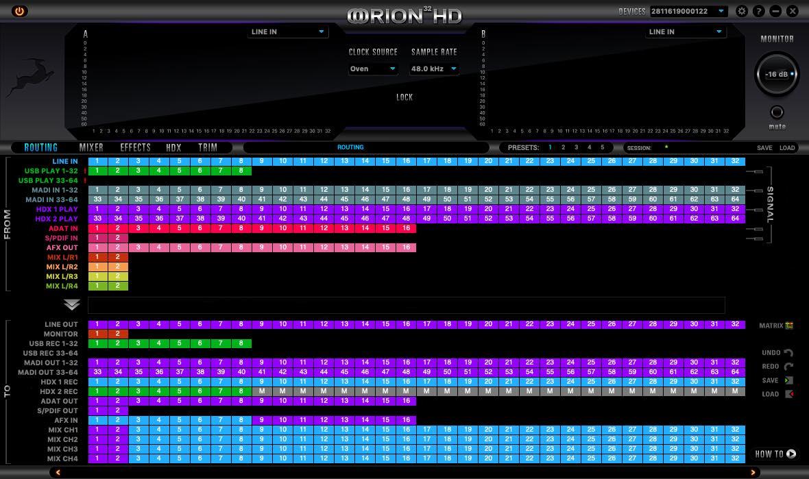 Antelope audio Orion 32 HD gen3 interfaccia studio pro test audiofader