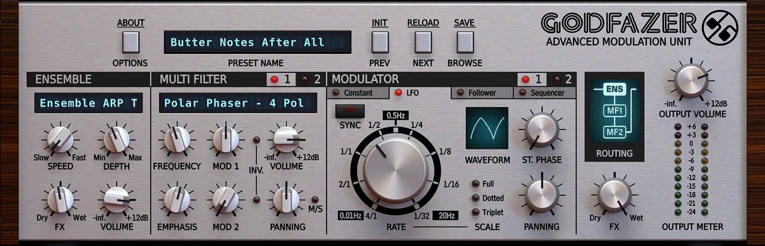 D16 Godfazer plug-in audio software daw virtual mix fx studio producer audiofader