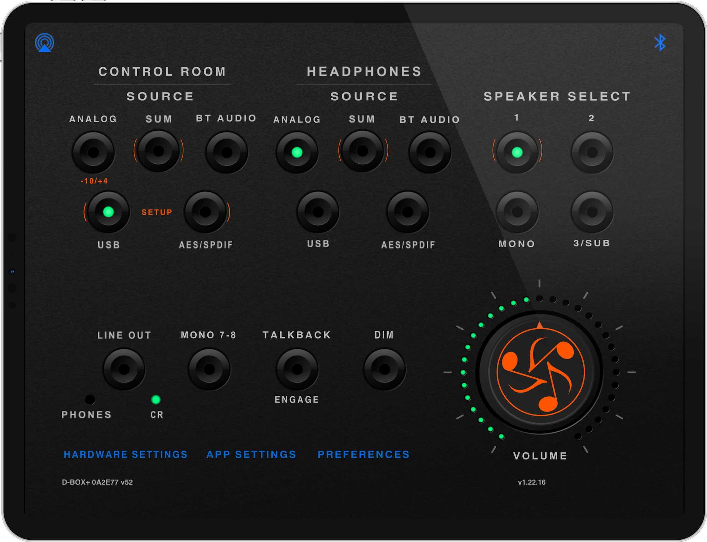 Dangerous Music D-Box+ hardware outboard digital analog studio pro mastering works test audiofader