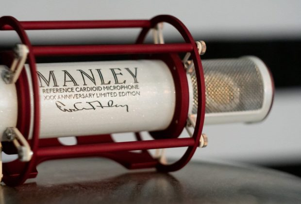 Manley Reference Cardioid hardware studio pro rec lucky music audiofader
