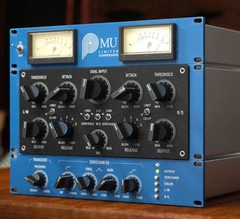 Pulsar Audio Mu software daw virtual plug-in audio comp limiter daw software audiofader