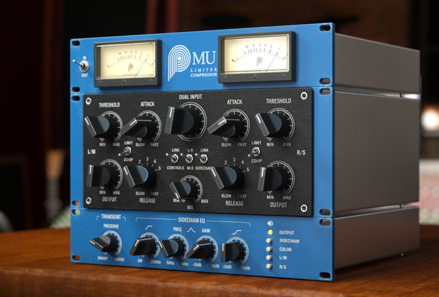 Pulsar Audio Mu software daw virtual plug-in audio comp limiter daw software audiofader