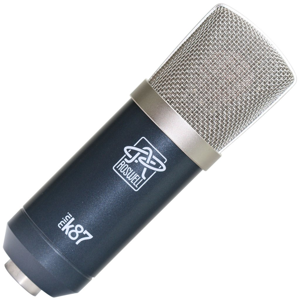 Roswell Mini K87 mic hardware pro audio studio rec audiofader