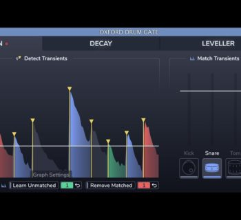 Sonnox Oxford Drum Gate plug-in audio virtual processing mix daw audiofader