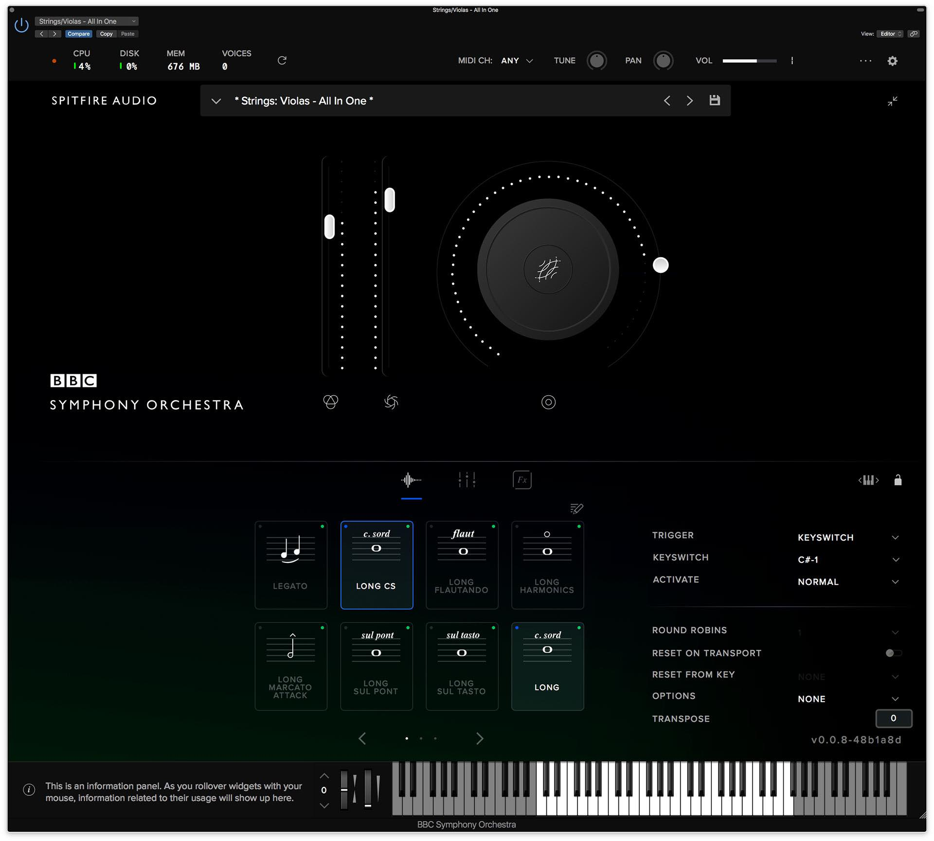 Spitfire BBC Orchestra virtual instrument sample library score audiofader