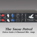 Thermionic Culture SnowPetrel outboard hardware analog pre funky junk dual audiofader