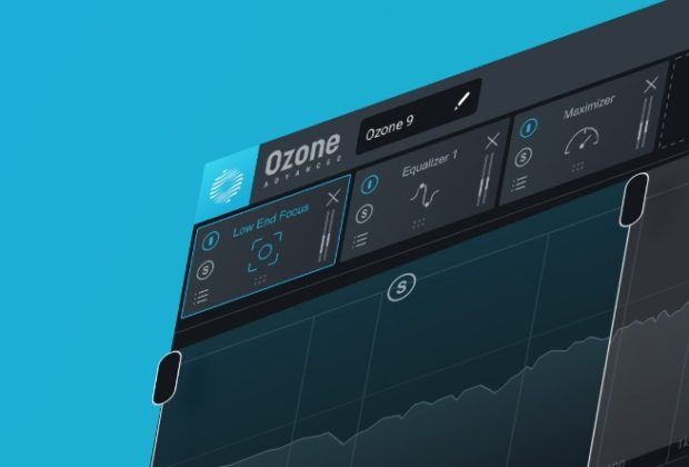iZotope Ozone 9 mastering software virtual processing itb audiofader