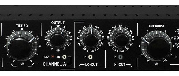 Buzz Audio eq tilt filter Zodiak hardware outboard rack mix mastering studio pro funky junk audiofader
