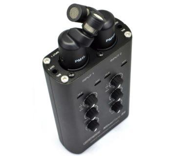 CEntrance Mixerface R4B hardware mic stereo rec audiofader