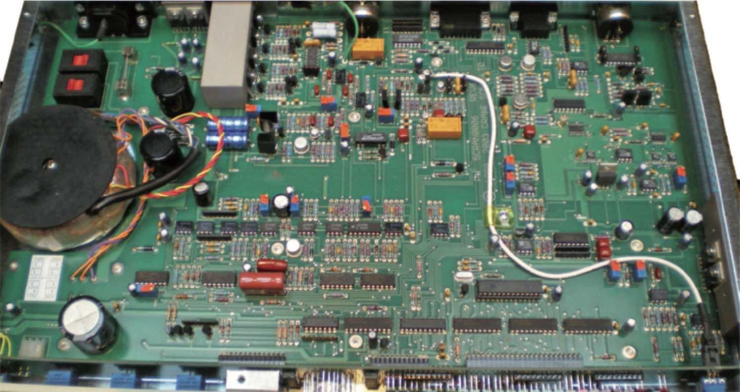 Crane Song Trakker outboard rack hardware comp studio pro audiofader test