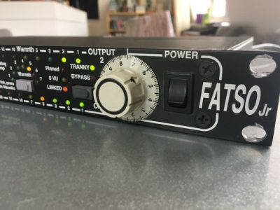 Empirical Labs Fatso jr el7 outboard analog digital hardware comp audiofader