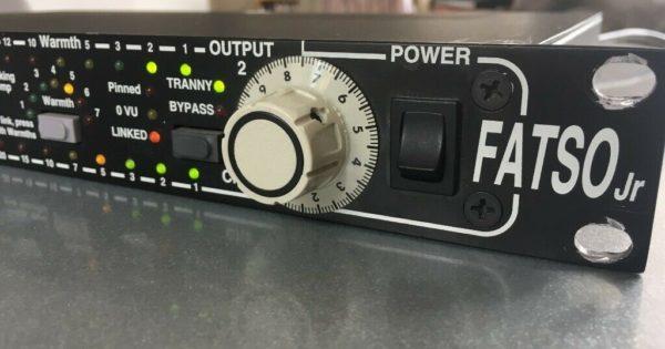 Empirical Labs Fatso jr el7 outboard analog digital hardware comp audiofader