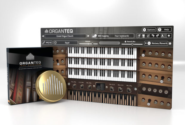 Modartt Organteq keyboard organ virtual instrument software daw audiofader