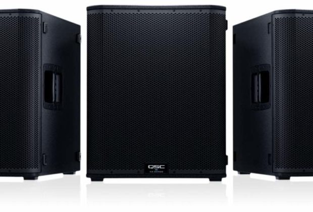 QSC KS118 live music sub subwoofer woofer exhibo audiofader