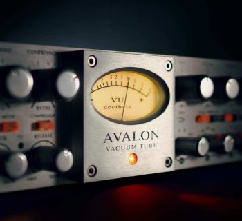Universal Audio UAD Avalon VT-737 mix virtual plug-in audio daw software audiofader