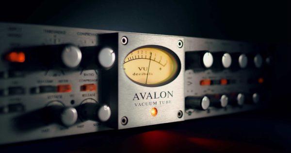 Universal Audio UAD Avalon VT-737 mix virtual plug-in audio daw software audiofader