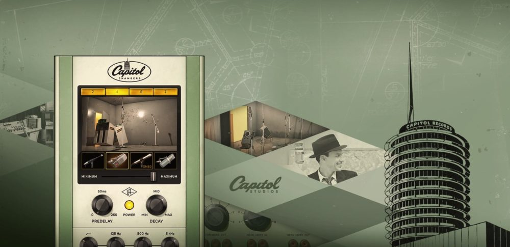 Universal Audio UAD Capitol Chambers plug-in reverb fx daw virtual software audiofader test