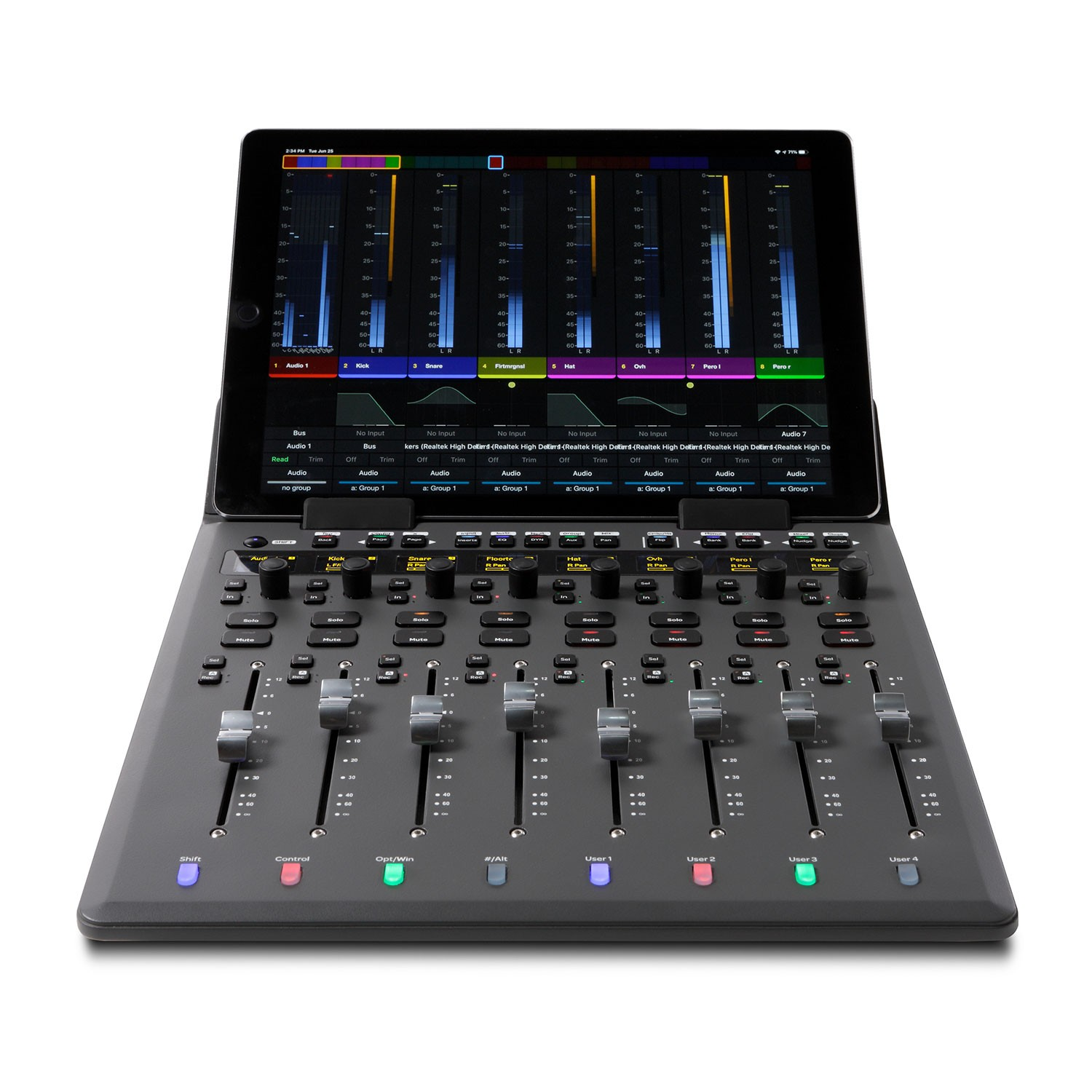 Avid S1 superficie di controllo surface control daw software hardware soundwave audiofader