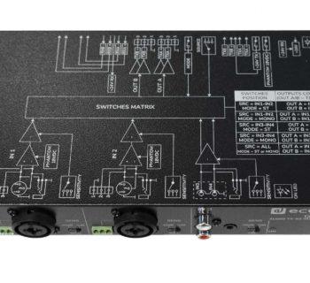 Ecler Genio audio pro IP cat5 ethernet exhibo audiofader